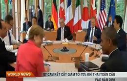 G7 cắt giảm tới 70% khí thải toàn cầu