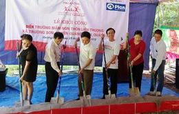 Quảng Bình: Khởi công xây điểm trường mầm non ở xã Trường Sơn