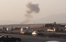 Quân đội Iraq không kích IS gần thủ đô Baghdad