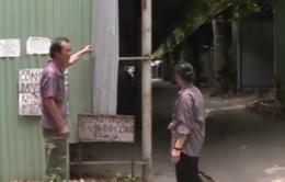 Thái Nguyên: Dựng chợ giữa đường rồi bỏ hoang, dân bức xúc