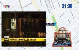 Sơ đồ diễn biến vụ tấn công kinh hoàng tại Paris