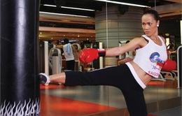 Kick-fit: Môn thể thao mới thu hút phái đẹp