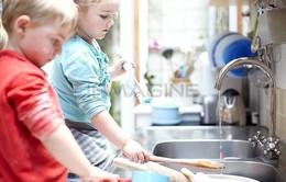 Khi nào nên giao việc vặt cho trẻ?
