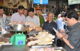 Hà Nội: Lập đoàn kiểm tra liên ngành kiểm tra các chợ