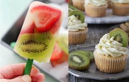 Món ngon mùa hè làm từ quả Kiwi