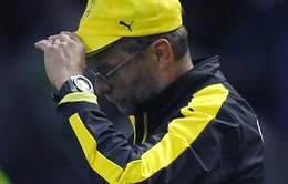 Tuột Cúp QG Đức, HLV Klopp buồn rầu chia tay Dortmund