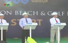 Khởi công dự án quần thể sân golf, resort, biệt thự 3.500 tỷ ở Bình Định