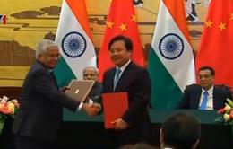 Trung Quốc và Ấn Độ ký kết nhiều thỏa thuận song phương