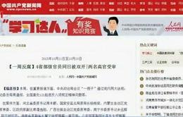 Trung Quốc cách chức, khai trừ 4 Ủy viên Trung ương Đảng