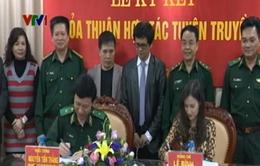 Đài TTVN ký hợp tác với Bộ Tư lệnh Bộ đội Biên phòng