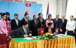 Hợp tác thương mại Việt - Lào trước thềm Cộng đồng ASEAN