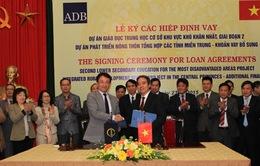 ADB cho Việt Nam vay 165 triệu USD cải thiện giáo dục và hạ tầng vùng khó khăn