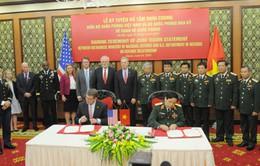 Tuyên bố tầm nhìn chung về quan hệ quốc phòng Việt Nam - Hoa Kỳ