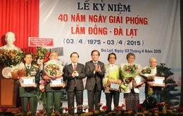 Kỷ niệm 40 năm giải phóng Lâm Đồng
