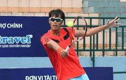 Giải quần vợt các tay vợt xuất sắc: ĐKVĐ Lâm Quang Trí lấy lại phong độ