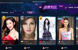 Lan Khuê lọt Top 3 lượt bình chọn của Miss World 2015