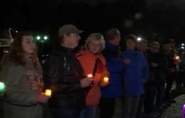 Hàng nghìn người Đức ra đường thắp nến phản đối làn sóng bài ngoại