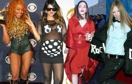 """""""Choáng"""" với những bộ cánh thảm họa tại Grammy"""