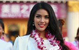 Lan Khuê lọt top 10 bình chọn ở Hoa hậu Thế giới 2015