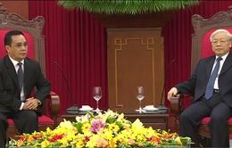 Tiếp tục đưa mối quan hệ Việt Nam - Lào phát triển lên tầm cao mới