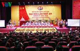 Lào Cai khai mạc Đại hội Đảng bộ tỉnh nhiệm kỳ 2015 - 2020