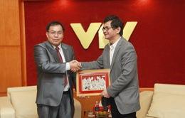VTV sẵn sàng tạo điều kiện và chia sẻ kinh nghiệm cho Đài THQG Lào