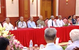 Đoàn cán bộ lão thành cách mạng TP.HCM thăm Hà Nội