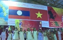 Trường song ngữ Lào - Việt Nam Nguyễn Du đón Tết Trung thu