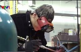 Thiếu lao động có tay nghề trong ngành sản xuất Mỹ