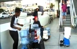 Ban nhạc đường phố độc đáo của Las Vegas, Mỹ