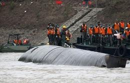 Lật tàu trên sông Trường Giang: Con số tử vong lên tới hơn 330 người
