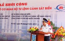Khởi công xây trụ sở Bộ Tư lệnh Cảnh sát biển