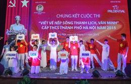 114 giải thưởng được trao trong cuộc thi 'Viết về nếp sống thanh lịch, văn minh'