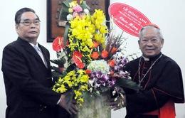 Thường trực Ban Bí thư chúc mừng Giáng sinh tại Hà Nội