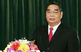 Đồng chí Lê Hồng Anh làm việc với tỉnh Cà Mau