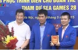 Đoàn thể thao Việt Nam nhận tài trợ trước thềm SEA Games 28