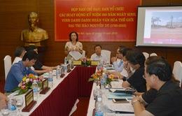 Họp Ban Chỉ đạo kỷ niệm 250 năm ngày sinh đại thi hào Nguyễn Du