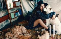 Lee Hyo Ri tận hưởng cuộc sống bình yên