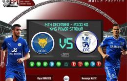 Leicester City – Chelsea: Ai mới là Nhà vua? (3h00, 15/12)