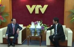 Đồng chí Lê Thanh Hải thăm Đài THVN nhân ngày Báo chí Cách mạng Việt Nam