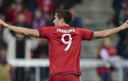 Lewandowski đang dẫn đầu danh sách ghi bàn ở 3 giải đấu lớn
