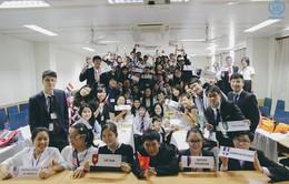 Hà Nội: Nhiều bạn trẻ tham gia mô phỏng mô hình Liên Hợp Quốc
