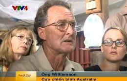 Cựu binh Australia trở lại Việt Nam trao trả kỷ vật chiến tranh