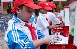 30% trường học ở Việt Nam thiếu nước sạch và điều kiện vệ sinh cá nhân