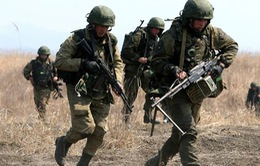 Gần 450 lính dù Nga tập trận tại Tajikistan