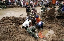 Indonesia: Lở đất khiến 12 người thiệt mạng