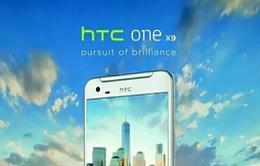 HTC One X9 lộ thiết kế kim loại nguyên khối, màn hình 2K, camera 13MP