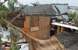 Lốc xoáy gây thiệt hại nặng nề tại Bình Phước