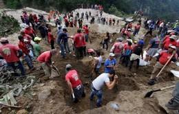 Guatemala cứu hộ nạn nhân trong vụ lở đất
