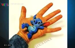 Nghệ thuật hội họa 3D trong lòng bàn tay